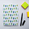 Cactus Print Journal | Available at Dessi-Designs.com