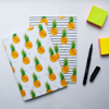 Set of 2 Tropical Pineapple Notebooks | Available at Dessi-Designs.com