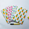 Set of 4 Watercolour Notebooks | Available at Dessi-Designs.com