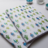 Cactus Pattern Notebooks | Available at Dessi-Designs.com