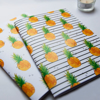Pineapples and Stripey Pineapple Notebook Set | Available at Dessi-Designs.com