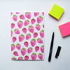Pink Strawberry Journal | Available at Dessi-Designs.com