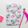 Pink Flamingo Jot Pad | Available at Dessi-Designs.com
