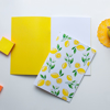 Yellow Inside Cover Lemon Notebook | Available at Dessi-Designs.com