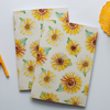 Yellow Sunflower Journals | Available at Dessi-Designs.com