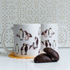 Penguin Coffee and Microwavable  Cups | Available at Dessi-Designs.com