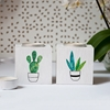 Picture of Cacti - Wooden Tealight  Holder