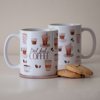 But First Coffee and Microwavable Muffin Mug Set | Available at Dessi-Designs.com