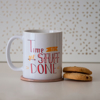 Time to Get Stuff Done Microwavable Coffee Cups | Available at Dessi-Designs.com