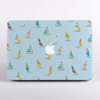 Blue Boats MacBook Case Front  | Available at Dessi-Designs.com