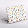 Summer Boats Pattern MacBook Cover Side  | Available at Dessi-Designs.com
