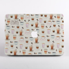 White Coffee MacBook Case Front  | Available at Dessi-Designs.com