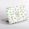 Floral Herbs Pattern MacBook Case Side  | Available at Dessi-Designs.com
