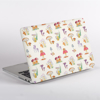 Mushrooms Pattern MacBook Cover side  | Available at Dessi-Designs.com