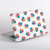 White Floral MacBook Case Side  | Available at Dessi-Designs.com