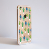 Clear Cactus Bumper Phone Case Side | Available at Dessi-Designs.com