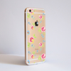 Clear Summer Floral Romance Bumper Case Side | Available at Dessi-Designs.com