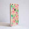 Flamingo Clear Bumper Phone Case Side | Available at Dessi-Designs.com