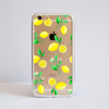 Clear Lemons iPhone Bumper Phone Case Front | Available at Dessi-Designs.com