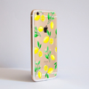 Clear Lemons iPhone Bumper Phone Case Side | Available at Dessi-Designs.com