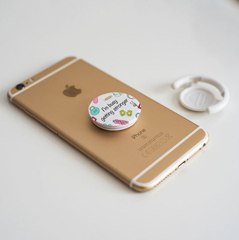 Picture of Busy Getting Strong- Pop Phone Socket