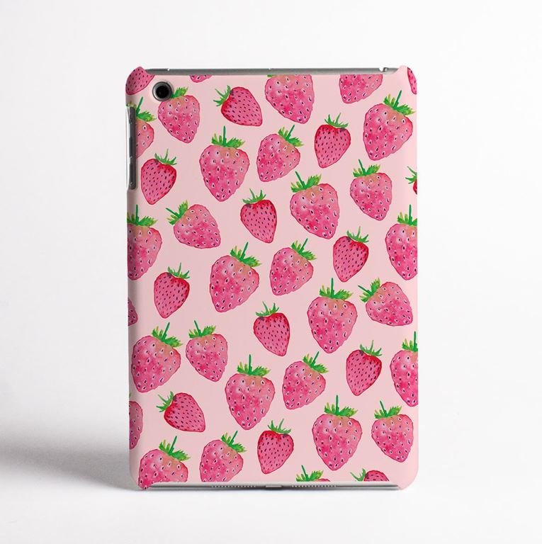 Strawberries Tablet Case -front