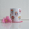Sugar Skulls Microwavable Coffee Cup | Available at Dessi-Designs.com