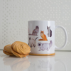 Cute Cats Microwavable Demitasse | Available at Dessi-Designs.com