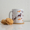 Dogs Coffee and Microwavable Cup | Available at Dessi-Designs.com