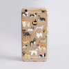 Dogs Clear Slim iPhone Case | Available at Dessi-Designs.com