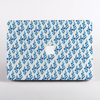 Blue China Porcelain Pattern MacBook Case Front  | Available at Dessi-Designs.com