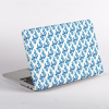 Blue China Porcelain Pattern MacBook Shell  Side  | Available at Dessi-Designs.com