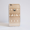 Clear Christmas Jumper Bumper Phone Case Front | Available at Dessi-Designs.com