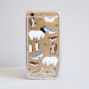 Arctic Animals Bumper iPhone Case Front | Available at Dessi-Designs.com
