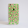 Brussels Sprouts Clear iPhone Bumper Phone Case Front | Available at Dessi-Designs.com