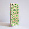 Brussels Sprouts Clear iPhone Bumper Phone Case Side | Available at Dessi-Designs.com