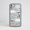 Arctic Animals Grey Impact iPhone Case Front | Available at Dessi-Designs.com
