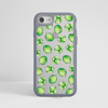 Brussels Sprouts Clear Grey iPhone Bumper Phone Case Front | Available at Dessi-Designs.com