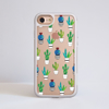 Clear Cactus iPhone Impact Phone Case Front | Available at Dessi-Designs.com