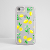 Clear Lemons silver iPhone Impact Phone Case Grey | Available at Dessi-Designs.com