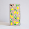 Clear Lemons iPhone Impact Phone Case White | Available at Dessi-Designs.com