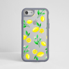 Clear Lemons iPhone Impact Phone Case Grey | Available at Dessi-Designs.com