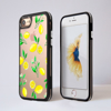 Clear Lemons iPhone Impact Phone Case Black | Available at Dessi-Designs.com