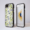 White Olive iPhone Impact Phone Case Black | Available at Dessi-Designs.com