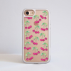 Cherries iPhone Impact Clear Phone Case Front | Available at Dessi-Designs.com