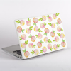 Peaches Pattern MacBook Case Side  | Available at Dessi-Designs.com
