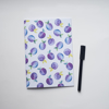 Purple Plums Notebook | Available at Dessi-Designs.com