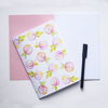 Pink Peach Notebook | Available at Dessi-Designs.com
