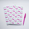 Pink Cherries notebook | Available at Dessi-Designs.com