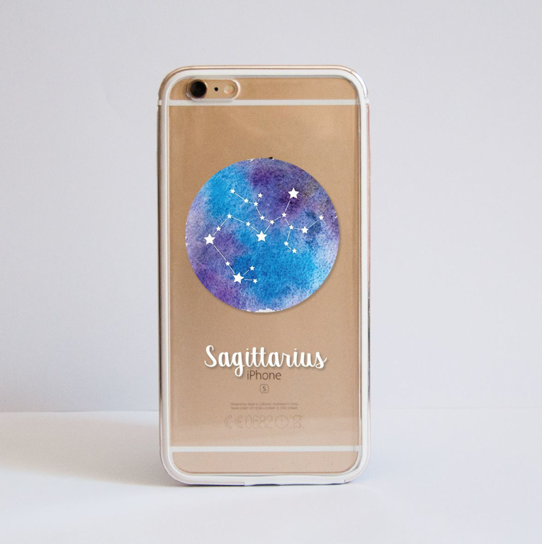 Zodiac Signs Bumper Phone Case Front | Available at Dessi-Designs.com